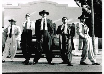 Zoot Suits in Black and White