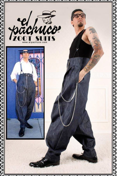 Blue JEAN Zoot Suit Pants