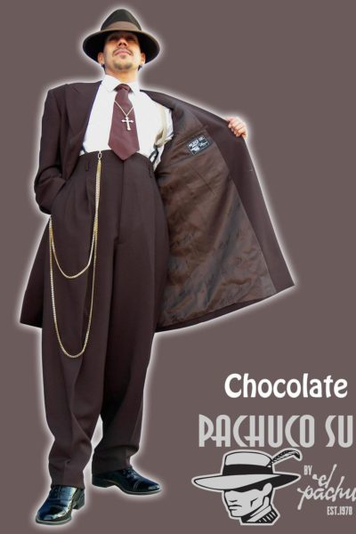 Chocolate Brown Zoot Suit